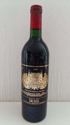 1987 Chateau Palmer, Margeaux Grand Cru Classé – 1 bottle
