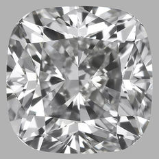 0.52 ct Cushion Modified Brilliant Diamond E VS2 IGI - SEALED - Serial# 241