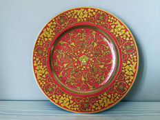 Rosenthal - Floralia Medusa Red - Gianni Versace Limited Edition piatto
