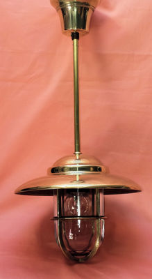 Maritime Lamp - solid brass