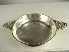 Silver brandy bowl - France - mid 19th century