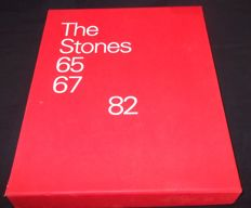 The Rolling Stones Book  '65 67 and 82″ Limited Edition Gerard Mankowitz Signed Book
