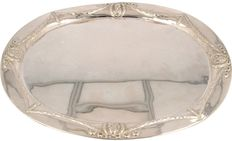 Silver large sbowl/serving tray, Germany