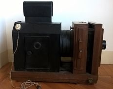 Photographic enlarger - Pietro Sbisà company, Florence - late 1800