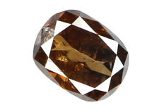 Diamond – Brown – 0.57 ct - No Reserve Price