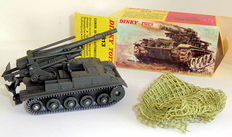 Dinky Toys-France - Scale 1/48 - Gun of 155 Auto motor with camouflage net No.813