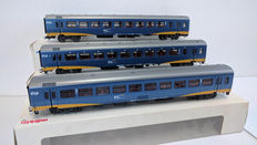 Märklin H0 - 42641/42642 - Four  IC-plus carriages of the  NS