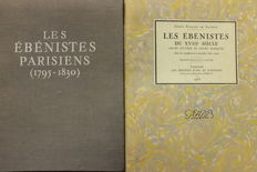 Furniture; Lot with 2 publications on French furniture makers - 1951 / 1953