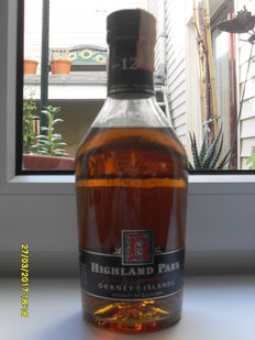 Whisky Highland Park 12 years old - 43% - 75cl