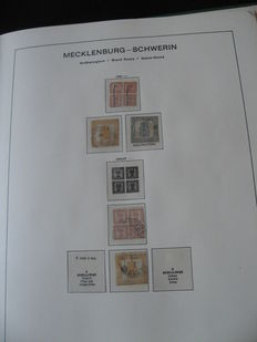Mecklembourg - Schwerin et Strelitz 1856/1864 - Collection de timbres