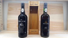 2000 Vintage Port Càlem & 40 years old Tawny Port Càlem (bottled in 2006)