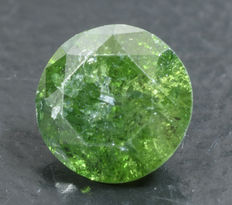 0.39 ct Green Diamond ** no reserve **