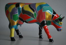 The Glassell Jun (high school) for Cow Parade-type Cow Ar - Large and Retired