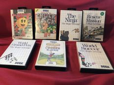 7 Games of Sega Master System