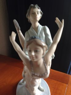 """Nao by Lladro """"DANCING ON A CLOUD""""  by Francisco Catala"""