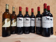 1999- chateau Cheval Noir x 6 bottles and 2006  Latour Martillac x 2 bottles - 8 bottles