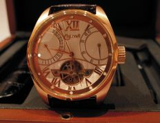 Lowell men's wristwatch - Automatic - Round-shaped case - 1995