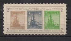 Thuringia, 1946 – sheet – Michel No.  1 – mint never hinged with gum