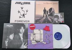 The Cure (+ related): Great lot of 3 LP's (of which 1 limited and 1 on coloured vinyl), 1x 12inch and 1x CD-single
