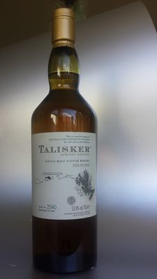 Talisker 2007 - Cask strength 53.9% - limited edition - Bottle nr. 2540