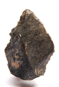 Middle Palaeolithic Levallois point from France - 67 mm