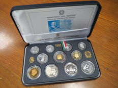 "Republic of Italy – 1991 Proof divisional series ""Vivaldi"" (including silver)"