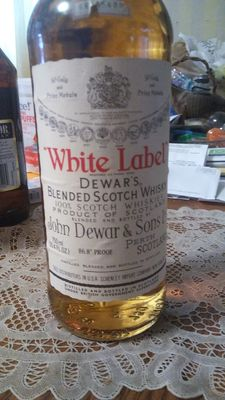 Dewar's White Label - Bottled  1980s