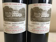 2003 Chateau Saint Pierre, Saint-Julien 4eme Grand Cru Classé – 2 bottles