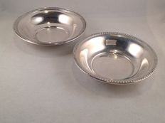 2 Silver bowls - USA - 20th century