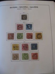 Bavaria 1849-1920 - Stamp collection