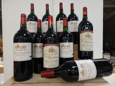 1999 Chateau Mayne Bernard X 8 magnums and 1997 Chateau des Rochers x 2 magnums - 10 magnum bottles in total
