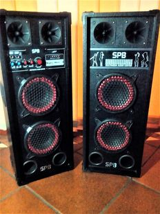 Amplified speakers-SPB-Multimedia audio centre