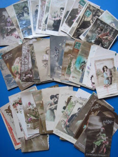 Novelty cards April first (88 x)