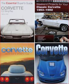 4 Books on Corvette