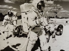 NASA - Apollo 16 - Lunar mission training - 1972