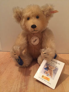 Steiff - # 028410 - Welcome-of-the-Euro-Bear