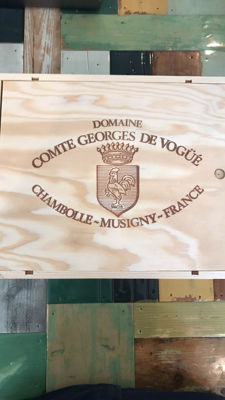 2014 Domaine Comte Georges de Vogue Chambolle-Musigny - 3 bottles (75cl) in OWC
