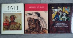 Bali; Lot with 3 publications on art and painters in Bali - 1978 / 1998