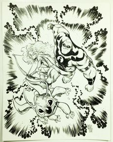 Micelli, Alessandro - Tribute to Jack Kirby's characters - (2014)