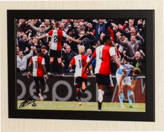 Jens Toornstra original signed photo - Deluxe Framed + COA and photo evidence