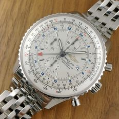 Breitling Navitimer World GMT 45mm Automatic Men's Chronograph Watch