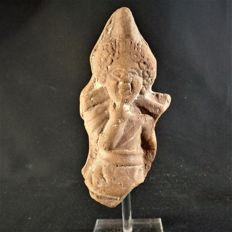 Egypt - Hellenistic terracotta Harpocrates - height 120 mm