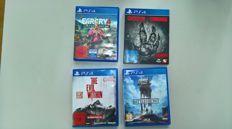 Lot of 4 PS4 Games- Farcry 4 Limited Edition , Evolve , The Evil Within and Star Wars Battlefront