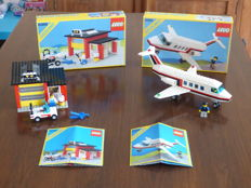 Classic Town - 6368 + 6369 - Jet Airliner + Garage