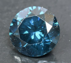 0.41 ct Blue Diamond ** no reserve **