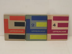 Ed. Theo Crosby - Uppercase - 3 issues - 1958 / 1960
