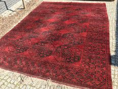 Antique XXL Persian Afgan Rug-380x270cm -hand knotted