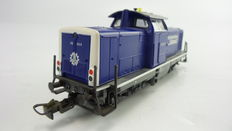Märklin H0 - From set 29655 – Diesel locomotive BR 212 with flashing light of the THW