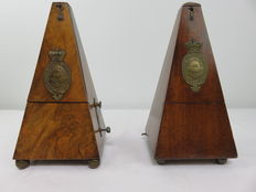 Metronome de Maelzel (19th century) ( set of 2 pieces )