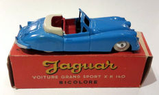 Quiralu - Scale 1/43 - Jaguar Grand Sport XK 140, bicolour white/blue